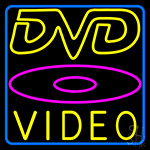 Dvd Video 2 LED Neon Sign