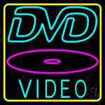 Dvd Video Dics 3 LED Neon Sign