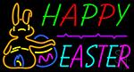 Easter Egg 3 LED Neon Sign