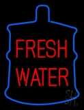 Red Fresh Water LED Neon Sign