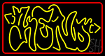 Funky Keno 1 LED Neon Sign