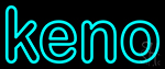 Funky Keno 2 LED Neon Sign