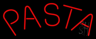 Red Pasta LED Neon Sign
