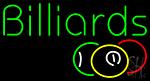 Green Billiards LED Neon Sign