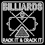 Green Billiards Rack It And Crack It 1 Neon Sign