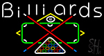 Green Billiards Rack It And Crack It 2 LED Neon Sign
