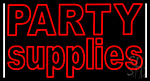 Green Party Supplies 2 LED Neon Sign