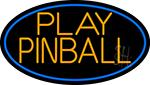 Green Play Pinball 2 LED Neon Sign