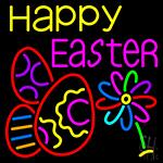 Happy Easter Egg 1 LED Neon Sign