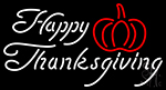 Happy Thanksgiving LED Neon Sign