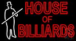 House Of Billiards LED Neon Sign