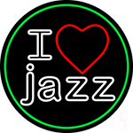 I Love Jazz 1 LED Neon Sign