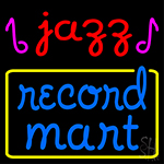 Jazz Record Mart 1 LED Neon Sign