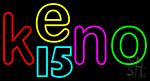 Keno 15 1 LED Neon Sign