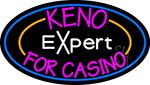 Keno Expert 2 LED Neon Sign