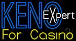 Keno Expert LED Neon Sign