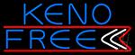 Keno Free 3 LED Neon Sign