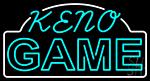 Keno Gems 1 LED Neon Sign