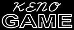 Keno Gems 2 LED Neon Sign