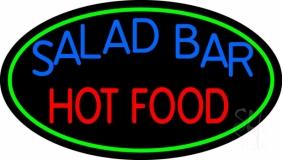 Salad Bar Hot Food LED Neon Sign