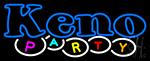 Keno Party 1 Neon Sign