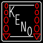 Keno Play Here 2 Neon Sign