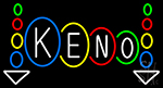 Keno Play Here LED Neon Sign