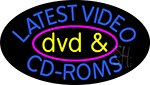 Latest Video Dvd And Cd Roms 2 LED Neon Sign