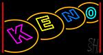 Multi Color Keno 1 Neon Sign