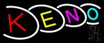 Multi Color Keno 2 Neon Sign