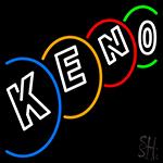 Multi Color Keno Neon Sign