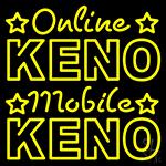 Online Keno Mobile Keno LED Neon Sign