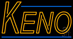 Keno Border 2 Neon Sign