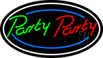 Party Party 2 Neon Sign