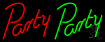 Party Party Neon Sign