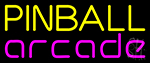 Pinball Arcade 2 Neon Sign