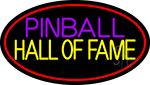 Pinball Hall Of Fame 3 LED Neon Sign