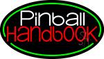 Pinball Handbook 3 Neon Sign