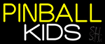 Pinball Kids 3 LED Neon Sign