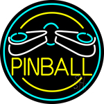 Pinball Logo 2 LED Neon Sign