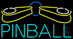Pinball Logo Neon Sign
