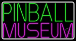 Pinball Museum 2 Neon Sign