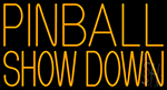 Pinball Showdown LED Neon Sign