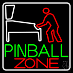 Pinball Zone 1 Neon Sign