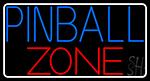 Pinball Zone 2 LED Neon Sign