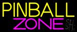 Pinball Zone 4 LED Neon Sign