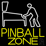 Pinball Zone Neon Sign