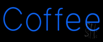 Blue Coffee LED Neon Sign