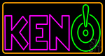 Keno 1 LED Neon Sign