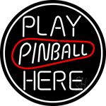 Play Pinball Herw 2 LED Neon Sign